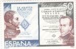 Stamps : Europe : Spain :  ALONSO DE ERCILLA-GARCILASO DE LA VEGA- venta   (6)