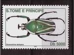 Stamps São Tomé and Príncipe -  serie insectos