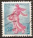 Sellos de Europa - Francia -  Sembrador.