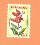 Stamps Africa - Uganda -  Flora y Fauna