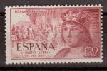 Stamps Spain -  ESPAÑA SEGUNDO CENTENARIO Nº 1113 ** 1,3P LILA ROSACEO FERNANDO EL CATOLICO