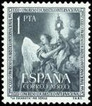 Sellos de Europa - España -  ESPAÑA SEGUNDO CENTENARIO Nº 1117 ** VERDE OSCURO CONGRESO EUCARISTICO