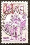 Sellos del Mundo : Europa : Francia : Ussel: Salón Ventadour (siglo XVI).