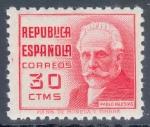 Stamps Spain -  ESPAÑA 735 CIFRAS Y PERSONAJES