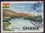 Sellos de Africa - Ghana -  Paisaje