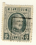 Stamps : Europe : Belgium :  Alverto I