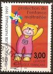 Stamps France -  Protección del Abuso Infantil.