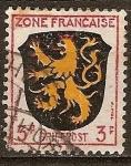 Sellos del Mundo : Europa : Francia : Briefpost O ZONA FRANCAISE (Emitido bajo la ocupación francesa.)