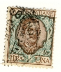 Stamps : Europe : Italy :  Victorio Emanuele III