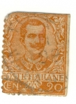 Stamps : Europe : Italy :  Victorío Emanuel III