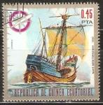 Sellos de Africa - Guinea Ecuatorial -  NAVE  MEDITERRÀNEA   1350