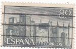 Sellos de Europa - España -  MONASTERIO DE NUESTRA SEÑORA DE GUADALUPE   (6)