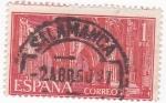Stamps Spain -  MONASTERIO DE NUESTRA SEÑORA DE GUADALUPE   (6)