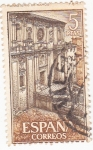 Stamps Spain -  REAL MONASTERIO DE SAMOS  (6)