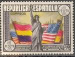Stamps Spain -  ESPAÑA 763 CL ANIVERSARIO DE LA CONSTITUCION DE LOS EE.UU.