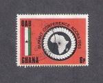 Sellos del Mundo : Africa : Ghana : Conferencia Cumbre de la Organización para la Unidad Africana