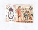 Sellos de Africa - Kenya -  II Festival Mundial de Arte y Cultura Negra y Africana