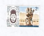 Stamps Tanzania -  II Festival Mundial de Arte y Cultura Negra y Africana