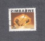 Sellos de Africa - Zimbabwe -  Citrino