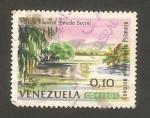 Stamps : America : Venezuela :  703 - Paisaje tropical, en el Estado de Sucre