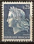 Sellos de Europa - Francia -  Republique Francaise(Mariane).
