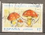 Sellos de Europa - España -  E3245 Micología (11)