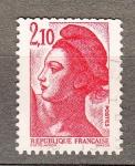 Sellos de Europa - Francia -  Liberte de Gandon (263)