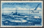 Stamps of the world : Spain :  ESPAÑA 775 CORREO SUBMARINO