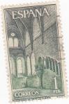 Stamps Spain -  MONASTERIO.DE SANTA MARIA DE HUERTA  (6)