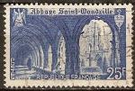 Sellos del Mundo : Europa : Francia : Abadía de Saint Wandrille.