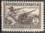Stamps : Europe : Spain :  ESPAÑA 792 HOMENAJE AL EJERCITO POPULAR