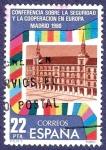 Stamps Spain -  Edifil 2592 Conferencia sobre seguridad 1980 22