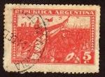 Stamps : America : Argentina :  6 desetiembre 1930