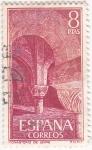 Stamps Spain -  MONASTERIO DE LEYRE  (6)