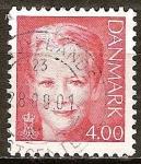 Sellos de Europa - Dinamarca -  Reina Margrethe II.