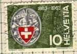 Stamps Switzerland -  100 años