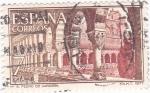 Stamps Spain -  MONASTERIO DE SAN PEDRO DE CARDEÑA   (6)