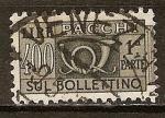 Sellos de Europa - Italia -  Pacchi- Sul Lire bollettino.