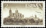 Sellos de Europa - España -  ESPAÑA SEGUNDO CENTENARIO Nº 1128 ** 2P CASTAÑO SALAMANCA