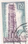Sellos de Europa - España -  Iglesia de Saint Jacques de París -AÑO SANTO COMPOSTELANO (6)