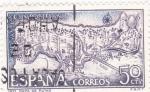 Sellos de Europa - España -  Rutas Jacobeas españolas -AÑO SANTO COMPOSTELANO (6)