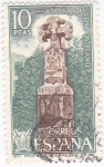 Stamps : Europe : Spain :  Cruz de Roncesvalles (Navarra)-AÑO SANTO COMPOSTELANO (6)