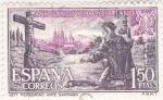 Sellos de Europa - España -  Peregrino -AÑO SANTO COMPOSTELANO (6)