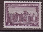 Stamps Serbia -  serie- iglesias