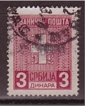 Stamps Serbia -  correo postal