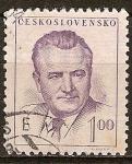 Sellos de Europa - Checoslovaquia -  Presidente Klement Gottwald.