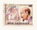 Stamps Africa - Central African Republic -  Premio Nobel de literatura 1934