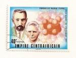 Stamps Africa - Central African Republic -  Premio Nobel de Fisica  1903