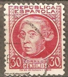 Stamps Spain -  JOVELLANOS