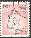 Stamps Germany -  PORTADOR  DE  ANTORCHA